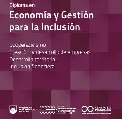 2ª edición: Diploma de Posgrado en Economía y Gestión para la Inclusión