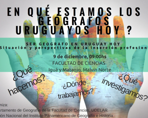 Ser geógrafo en Uruguay hoy. Situación y perspectivas de la inserción profesional