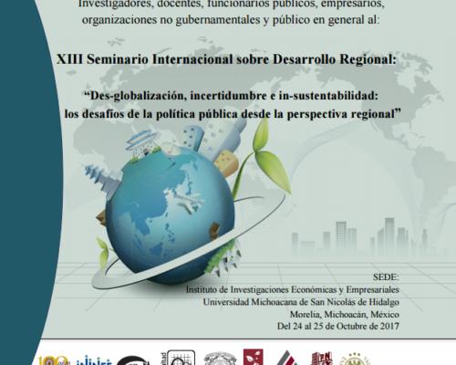 """""""Desglobalización, incertidumbre e insustentabilidad: los desafíos de la política pública desde la perspectiva regional"""""""