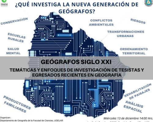 ¿Qué investiga la nueva generación de geógrafos?
