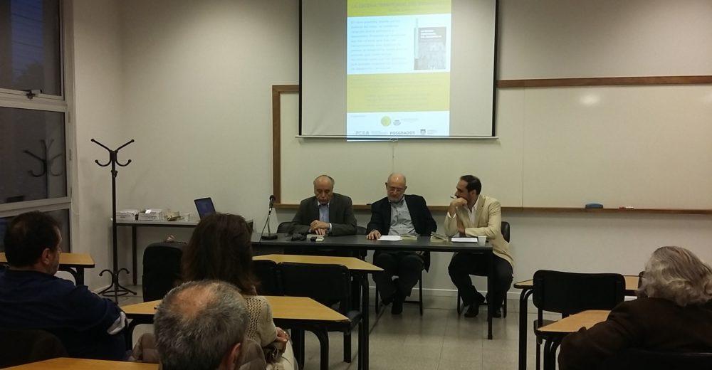 Se realizó la presentación del libro «La escena territorial del desarrollo» de los autores José Arocena y Javier Marsiglia