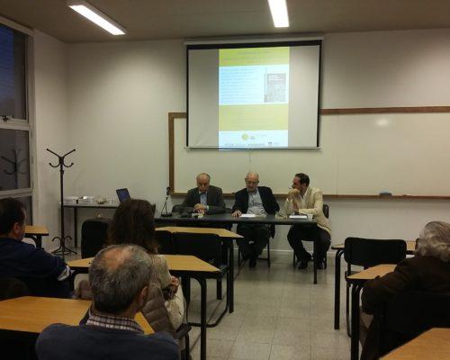"""Se realizó la presentación del libro """"La escena territorial del desarrollo"""" de los autores José Arocena y Javier Marsiglia"""