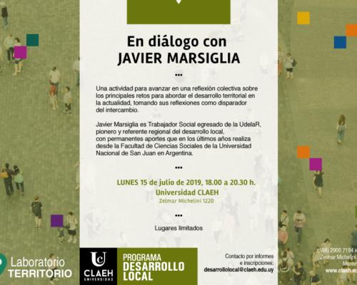 «En diálogo» con Javier Marsiglia