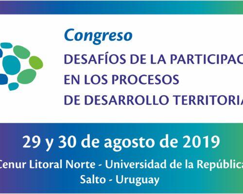 Congreso Desafíos de la participación en los procesos de desarrollo territorial