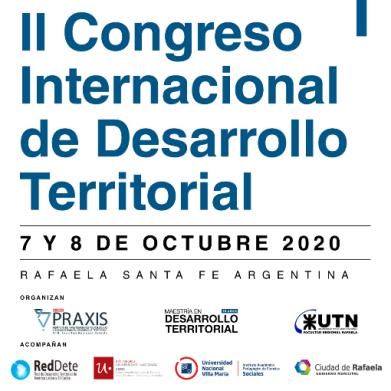 Rafaela será sede del II Congreso Internacional de Desarrollo Territorial