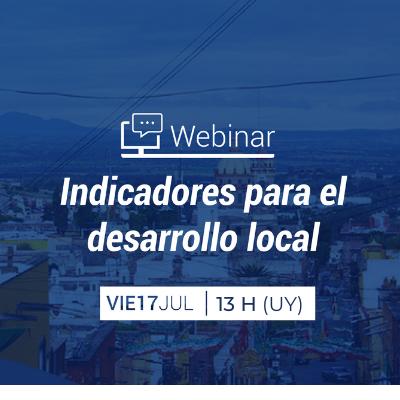 Webinar: Indicadores para el desarrollo local