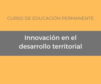 Curso «Innovación en el desarrollo territorial»