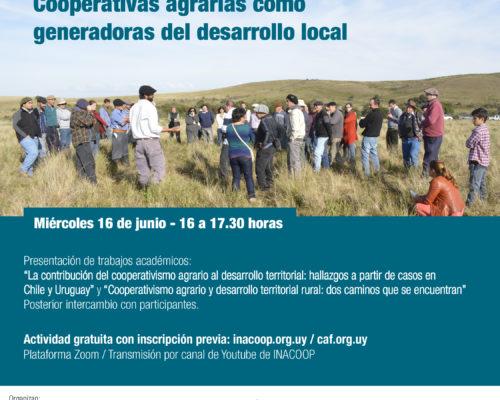 """Seminario virtual """"Cooperativas agrarias como generadoras de desarrollo local"""""""